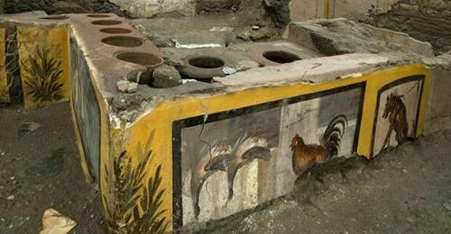 A Pompei, un fast food di 2000 anni fa